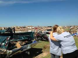 On July 11, 30 volunteers from the Manchester Community Church traveled to Oklahoma to help rebuild two towns severely damaged during a tornado on the afternoon of May 20.