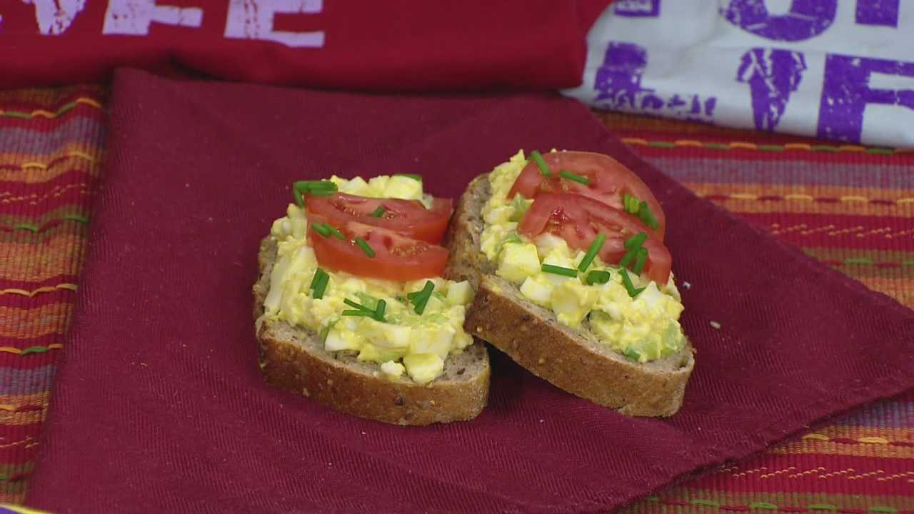 Mike Morin of WZID shows us how to prepare clean egg salad in today's Cook's Corner.