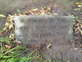The memorial marker at Goodwin Park on Islington Street was not damaged.