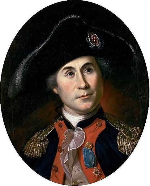 The USS Ranger and the USS Raleigh, led by John Paul Jones (pictured here), were both built in Portsmouth. They were used in the Continental Navy to hunt down British merchant ships.