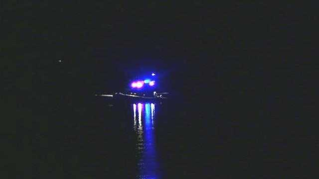 Four people were hurt after 2 boats collided in Gilford.
