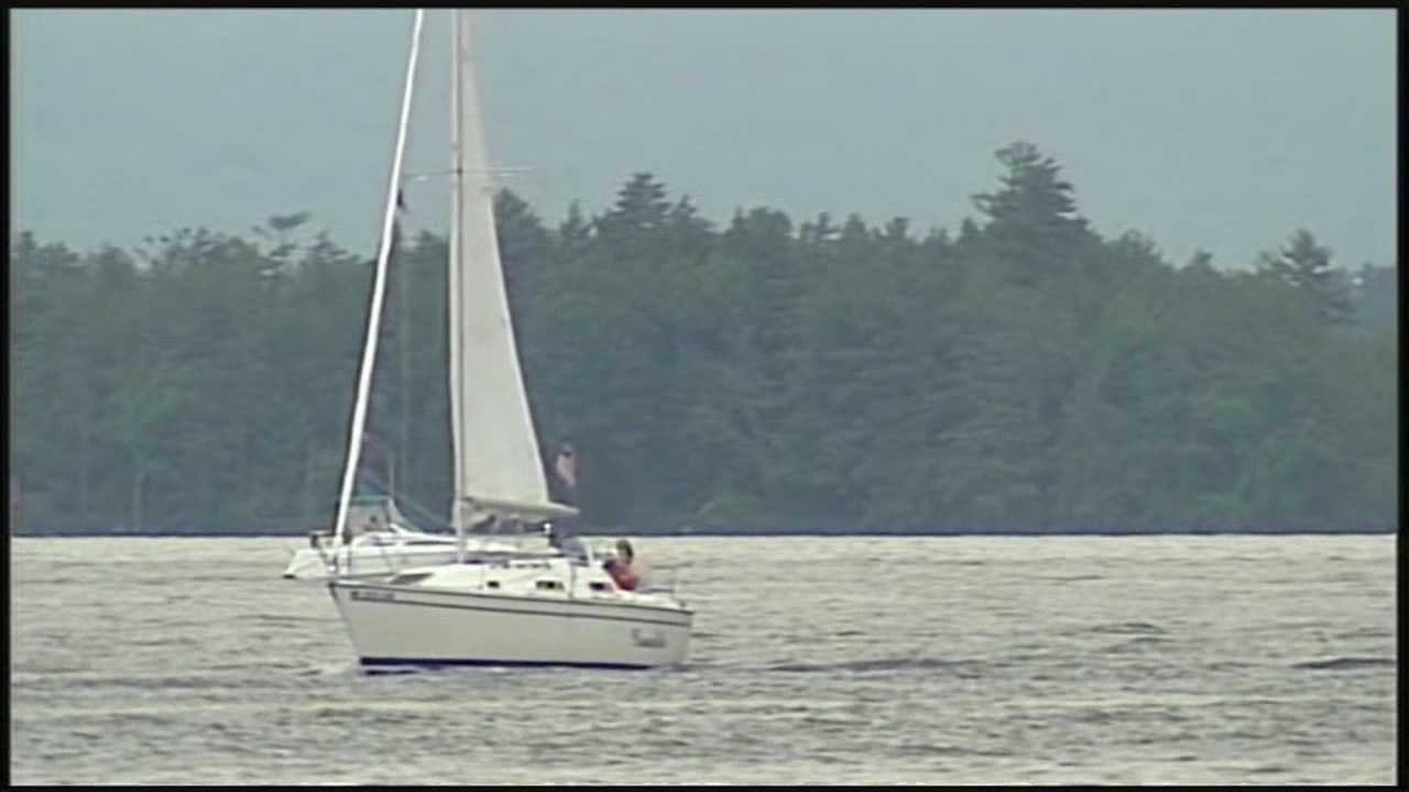 Two boats sustain severe damage after a collision Friday night near Wentworth Cove.
