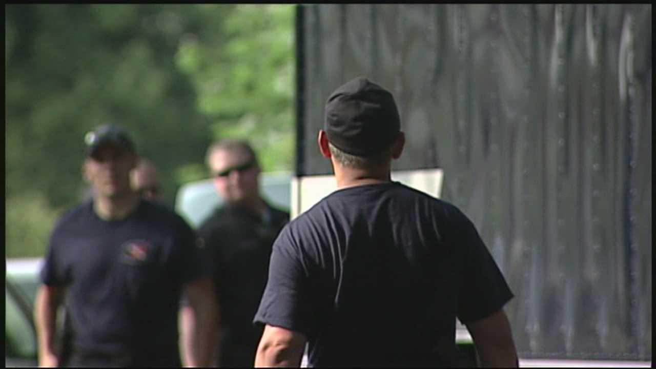 Police investigate crime scene in Nashua