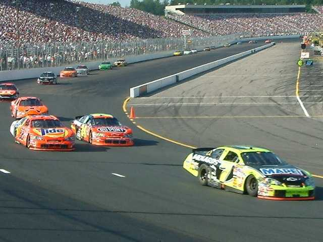 In June 2008, the Lenox Industrial Tools 301 Sprint Cup Race ended abruptly after a storm caused flooding around the track, including at the infield tunnel.