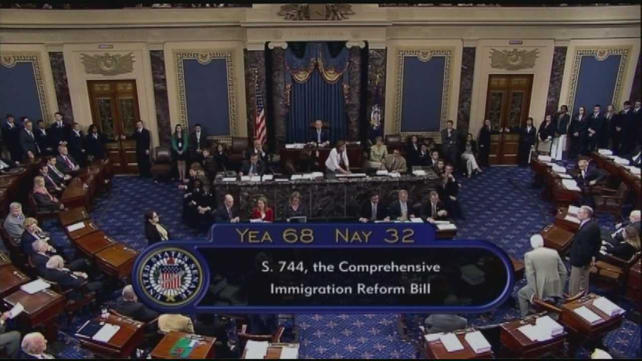 Immigration reform bill passes U.S. Senate