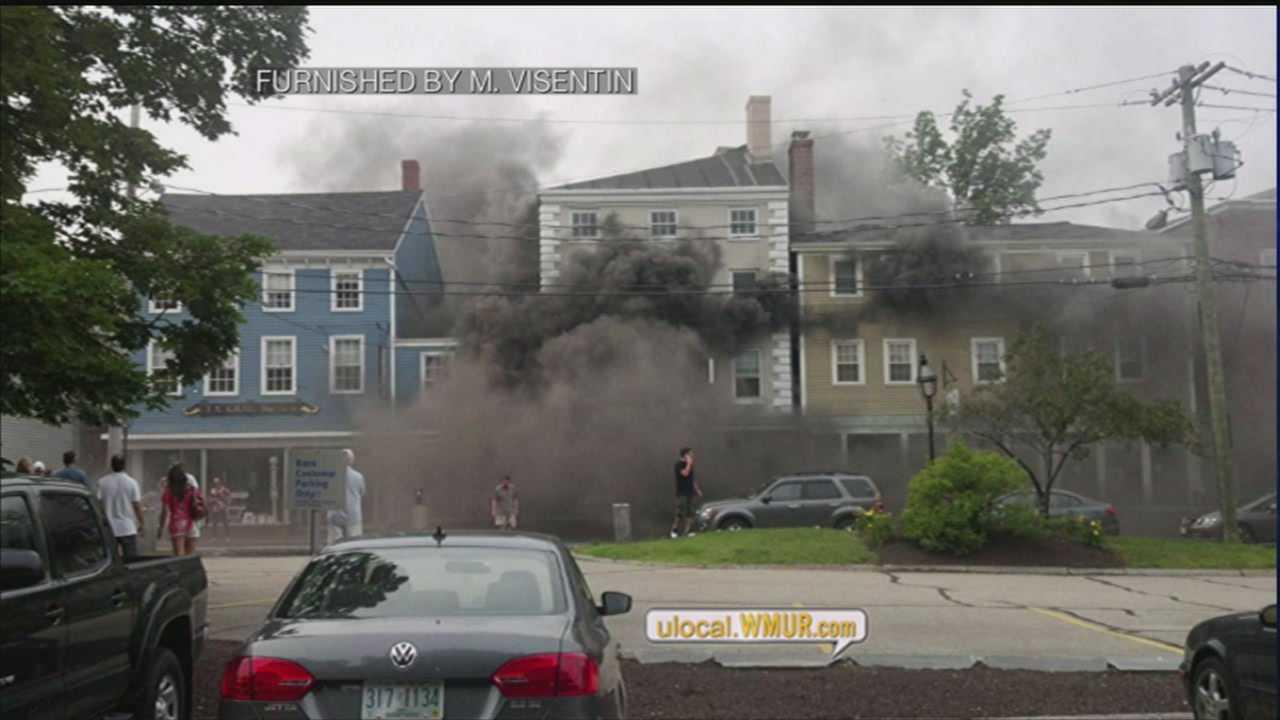3-Alarm fire breaks out in Portsmouth