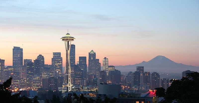 5.) (tie) Seattle