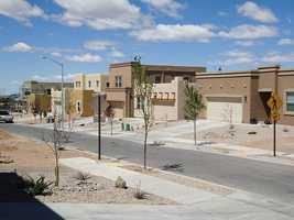 5.) (tie) Santa Fe, N.M.