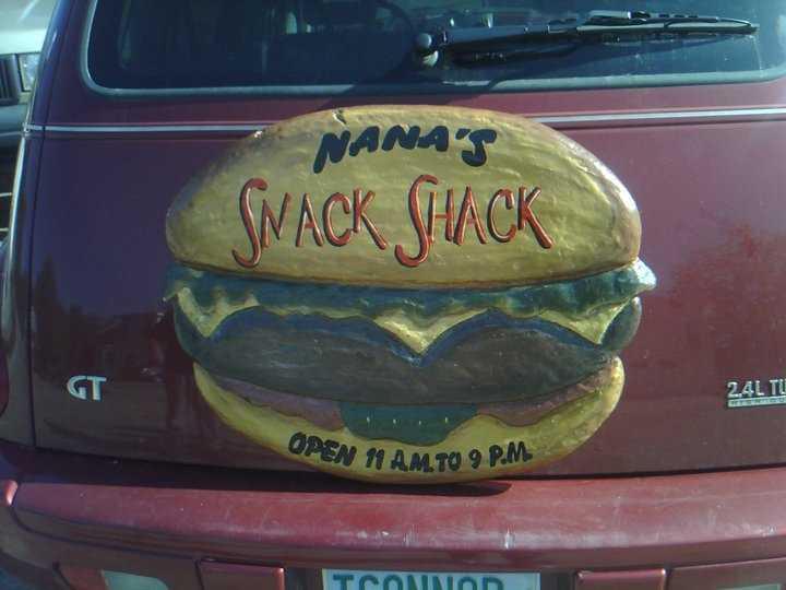 2) Nana's Snack Shack in Weare