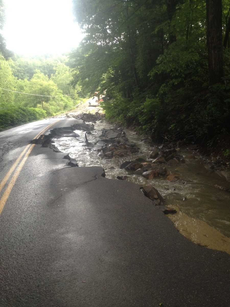 Route 63 in Westmoreland