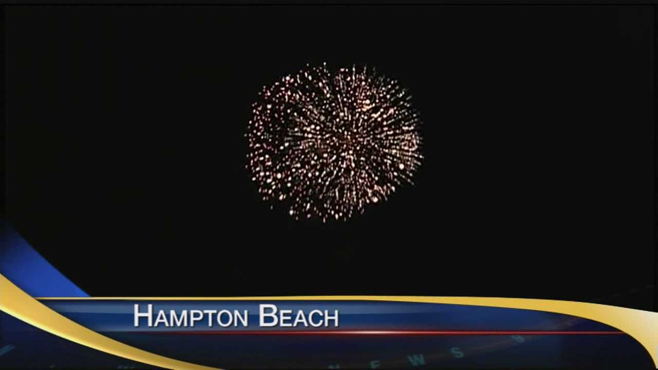 Many people headed to Hampton Beach to celebrate Independence Day.