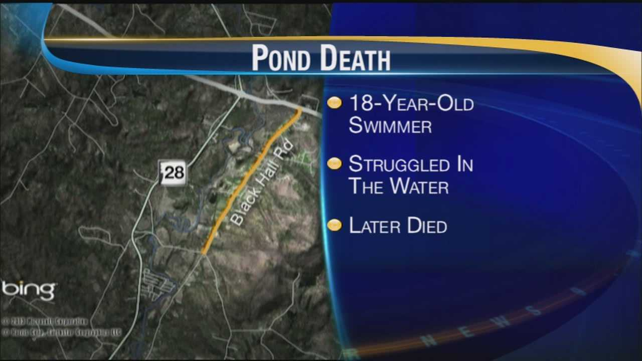 18-year old teenager has drowned in a Newton pond.