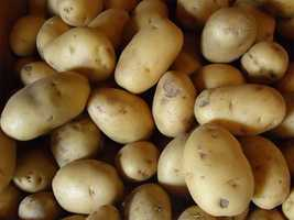 The white potato was named the state vegetable in 2013.