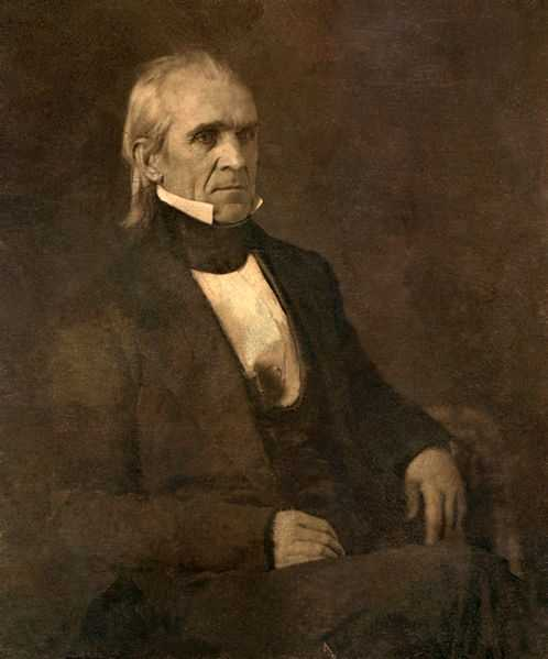 "The Democratic Party's slogan was, ""We Polked you in 1844&#x3B; we shall Pierce you in 1852!"" This was in reference to James K. Polk winning the 1844 election.(Source: ""Franklin Pierce,"" DePauw University)"