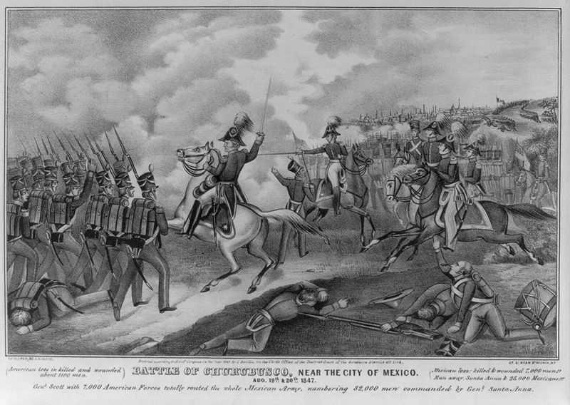 "In the Mexican-American War, Pierce's leg was seriously injured when his horse fell on him. He still went into battle the next day, though he passed out from pain from his injuries. Political opponents tried to paint it as an act of cowardice, but Ulysses S. Grant defended him.(Source: ""The Personal Memoirs of Ulysses S. Grant"")"