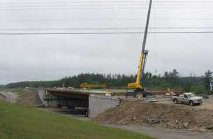 I-93 in Londonderry: It also includes the construction of wetland mitigation sites that are accessed from Gilcrest Road and South Road southwest of I-93 at the Exit 4 interchange in Londonderry.