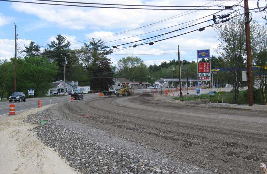I-93 in Londonderry: Two-way traffic will be maintained on NH-28 between the hours of 6 a.m. and 7 p.m. Alternating one-way traffic will be allowed from 7 p.m. to 6 a.m.Project Completion: June 2014 -- Estimated cost: $36.7 million.