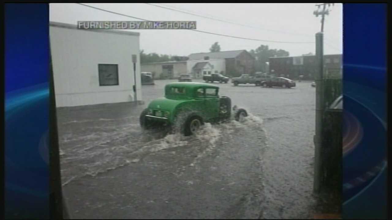Rain brings more flooding to Keene