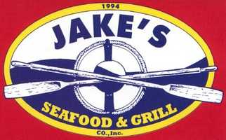 No. 3) Jake's Seafood & Grill in Ossipee.