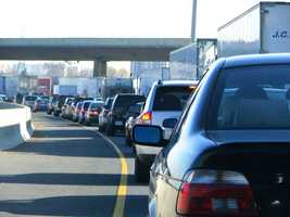 Stagger your work hours when commuting to avoid peak rush hours.