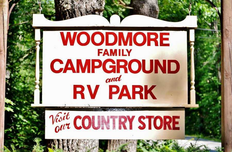No. 6) Woodmore Family Campground and RV Park in Rindge.