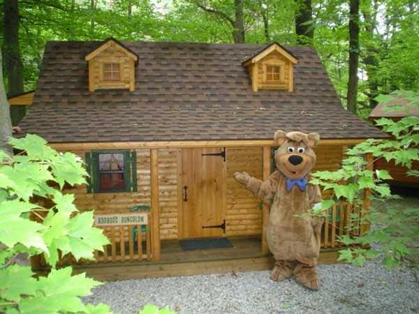 No. 9) Yogi Bear Jellystone Park in Ashland.
