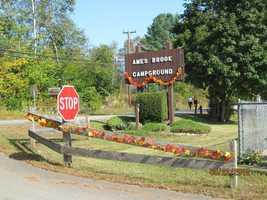 No. 17) Ames Brook Campground in Ashland.