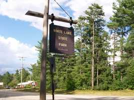 No. 18) White Lake State Park in Tamworth.