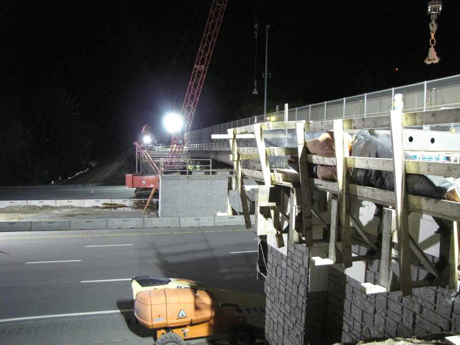 The project to widen Route 107 is expected to be completed during the Summer of 2014.
