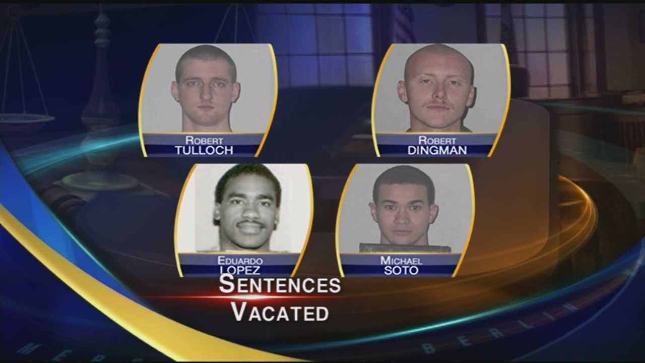 New sentencing hearings ordered for Tulloch, Dingman, 2 others
