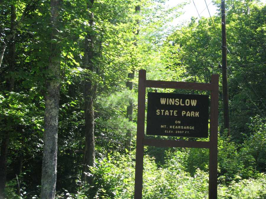 Escape Outside's Paula Tracy toured the beautiful Winslow State Park.