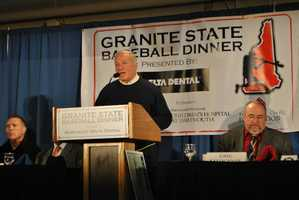 Each year, the team hosts the Granite State baseball dinner to benefit the Children's Hospital at Dartmouth-Hitchcock, the Ted Williams Foundation and the Fisher Cats Foundation.