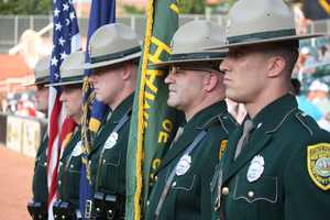 """The team also hosts """"Law Enforcement Night,"""" honoring local men and women who serve."""