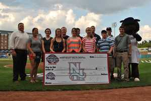 Each year the Fisher Cats Foundation awards $2,500 scholarships to 10 New Hampshire student-athletes.