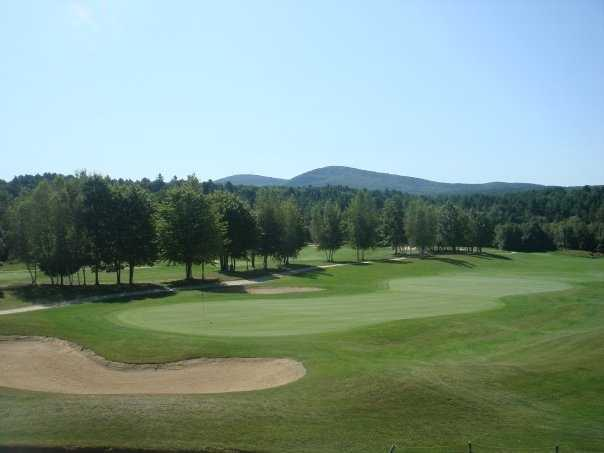 Tie-4) Stonebridge Country Club in Goffstown.
