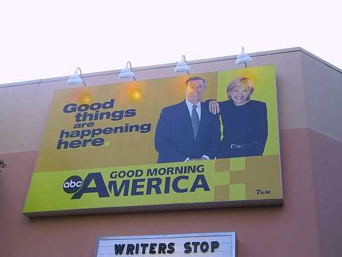 Bergeron signed contract with ABC News as guest host on Good Morning America after Charles Gibson left. He was seriously considered as a permanent replacement, but the job went to Kevin Newman.
