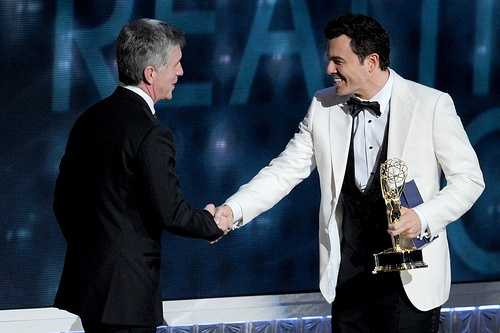 Bergeron was nominated for 5 Emmy Awards for his work on Hollywood Squares. In 2000 he won the first of his two Emmy's.