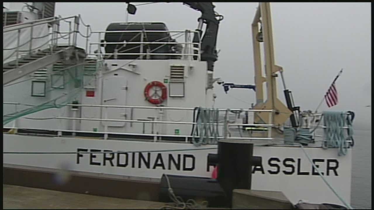 Ship has mission to map ocean floor