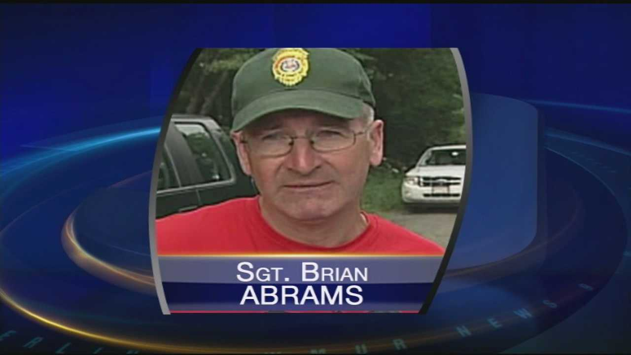 Sgt. Brian Abrams, who died in a motorycle crash, worked for the New Hampshire Department of Fish and Game for 22 years.