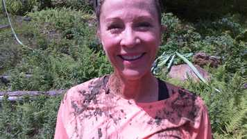 Karen Joyce of Hampton took on her first Mudder.