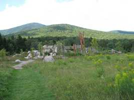 The Appalachian Mountain Club has created a unique sort of children's playground at the Highland Center: The Playscape.