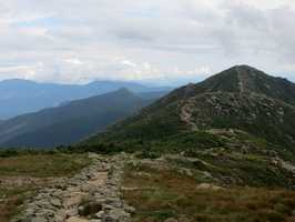 No. 3) Franconia Ridge Loop on Mt. Lafayette.