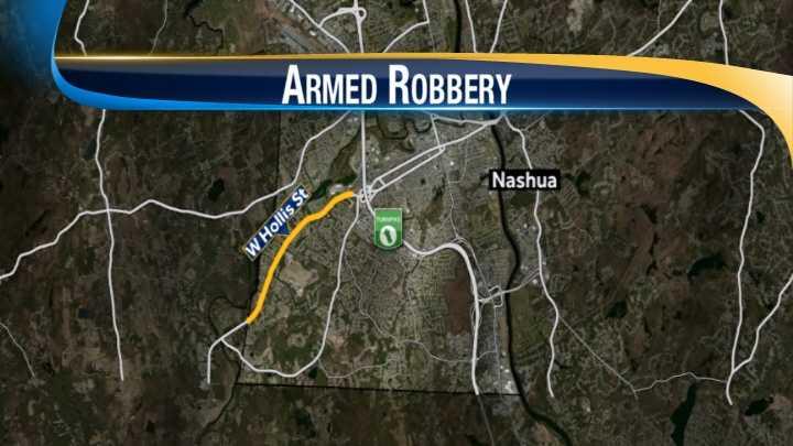 map-Nashua armed robbery