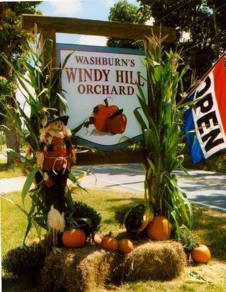 16) Washburn's Windy Hill Orchard in Greenville