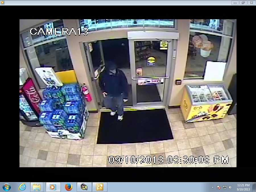 Manchester police say the Irving gas station on Roundstone Avenue was robbed early Tuesday morning.