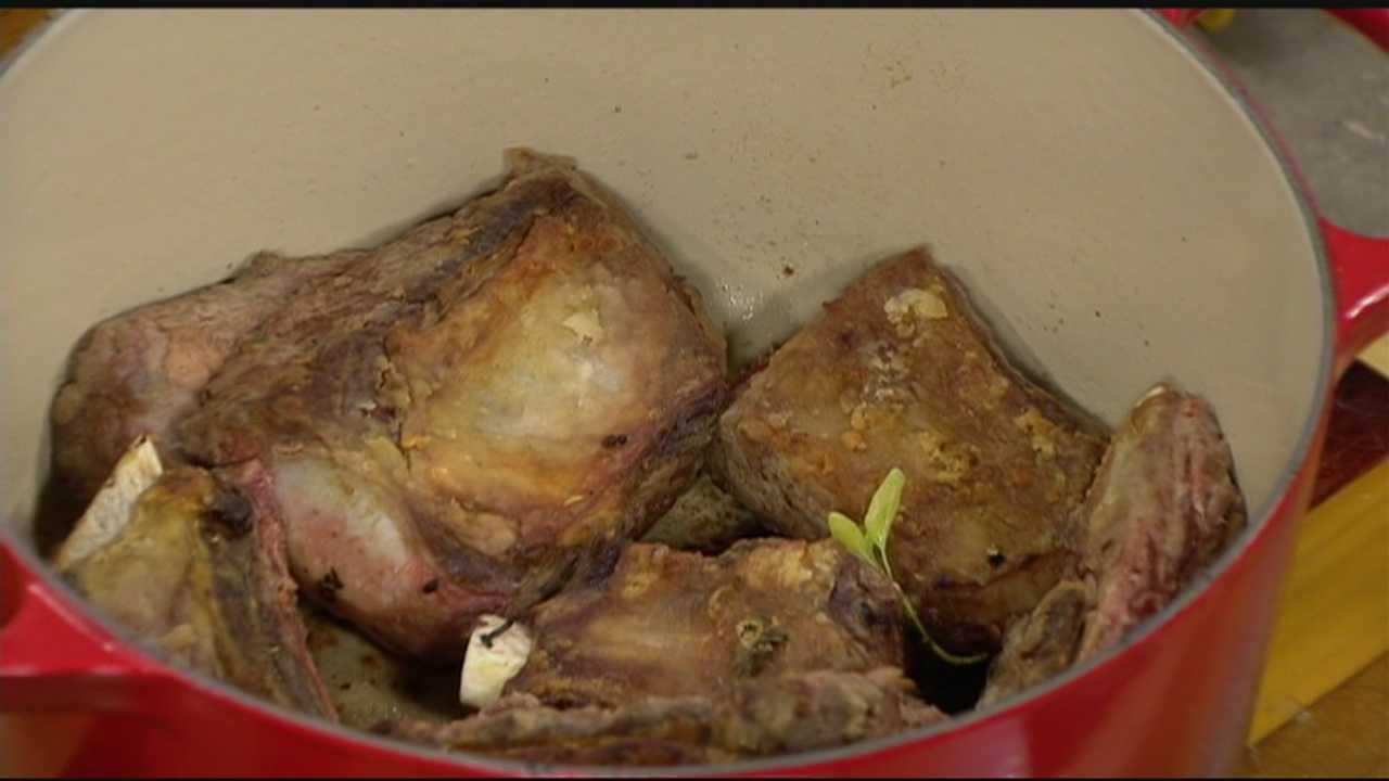 Learn how to make braised short ribs in Saturday's Cook's Corner