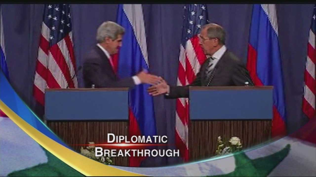 Secretary of State John Kerry still in Russia.
