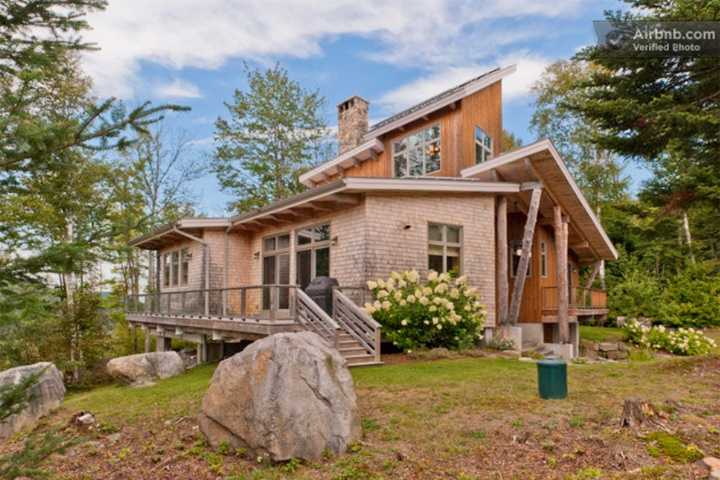 This gorgeous four-bedroom estate has lots of privacy.