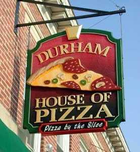 12) Durham House of Pizza in Durham