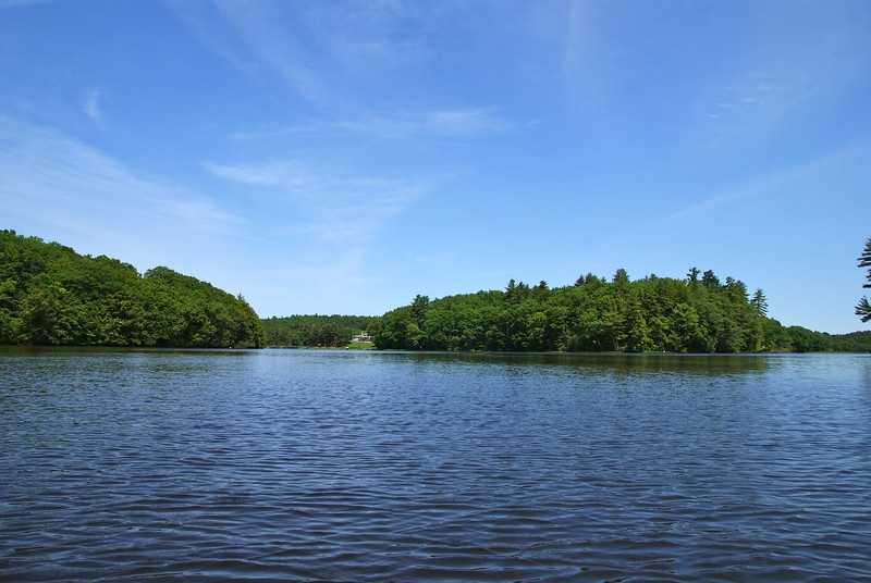 The property is near the Cocheco and the Salmon Falls River.
